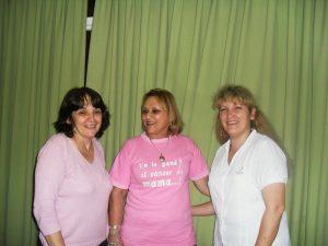 Las tres mujeres que sobrevivieron al cáncer de mama