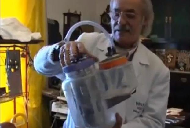 Generador de hidrogeno por electrolisis para camiones - Invento de Juan Luís Fernández Garrido