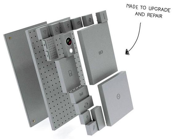 Phone Bloks - Un teléfono móvil totalmente personalizable y reparable