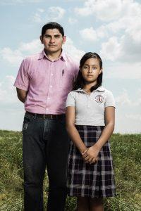 Paloma y su profesor