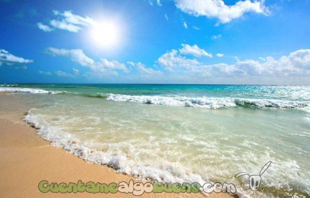 Que nuestras playas y mares estén limpios de plásticos depende de nosotros y lo vamos a conseguir. Foto de đây chỉ.