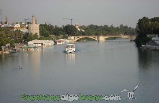 El río Guadalquivir no será dragado. Fotografía de xmrey.