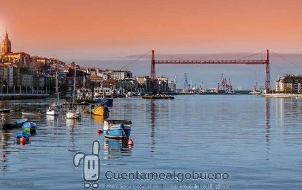 Portugalete, ciudad por el comercio justo. Foto de Jose Castanedo.
