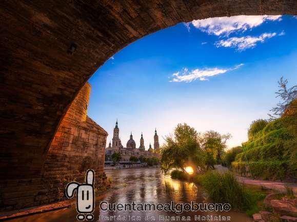 Zaragoza, ciudad por el comercio justo. Foto de Nico Trinkhaus.