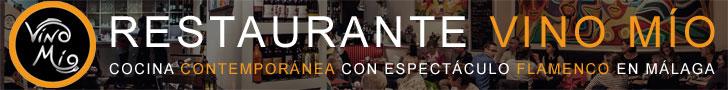 Restaurante Vino Mío - Cocina contemporánea con espectáculo flamenco en Málaga