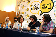 El disco solidario Voces x1fin: Juntos por Mali