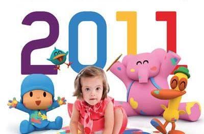 Famosos posan para el Calendario solidario Talita 2011