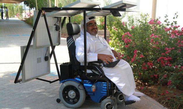 Una historia de superación… Cruzando el desierto en una silla de ruedas