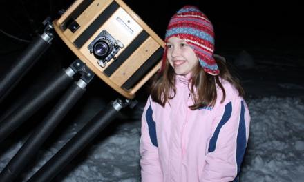 Una niña de diez años descubridora de una supernova