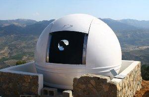AstroCamp el primer albergue de telescopios de Europa