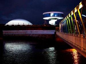 Inaugurado el Centro Oscar Niemeyer de Avilés