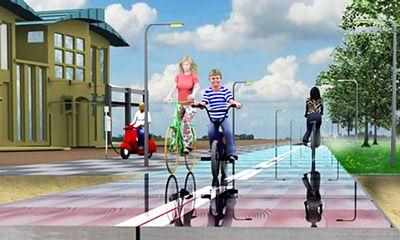 Solaroad: el carril bici solar de Holanda
