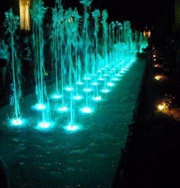Espectáculo de agua, luz y sonido en el Alcázar de Córdoba (y II)