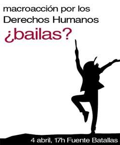 Macroacción por los derechos humanos en Granada