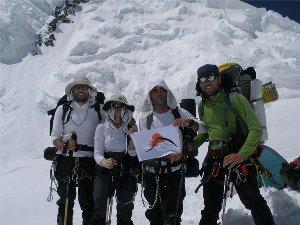 Alpinistas solidarios