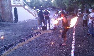 Caminando por el fuego