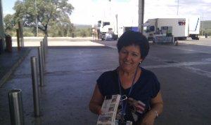La vendedora de cupones más positiva de Jaén