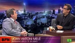 Joan Antoni Melé entrevistado por Buenafuente