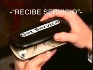 Recibe Servicio