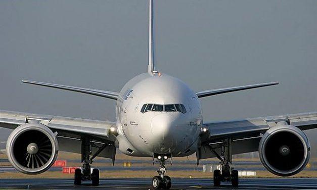 Volando con biocombustible.