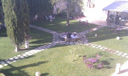 El Palacio de Huérmeces en Burgos: Jardín de ensueño