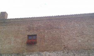 El Palacio de Huérmeces en Burgos: fachada trasera del Palacio