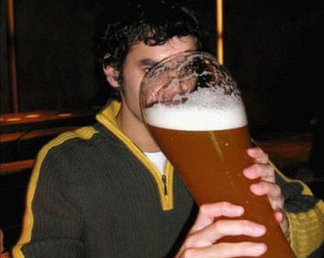 Haz deporte y despues una cervecita…