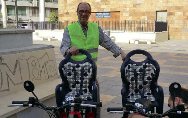 Evento Cuentamealgobueno: Demostración de Bicicletas para Invidentes en Huelva
