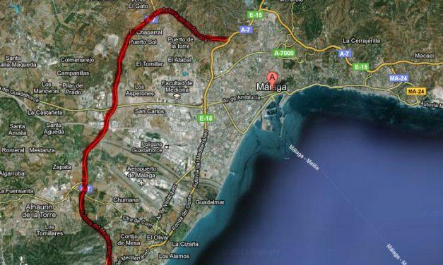 La hiperronda de Málaga se abre hoy
