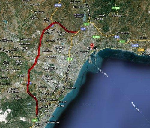 La hiperronda de Málaga