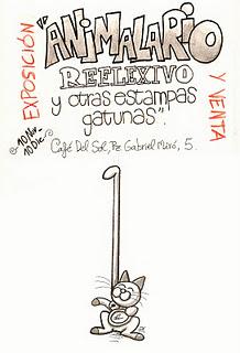 """Exposición """"animalario reflexivo"""" del historietista alicantino UPL"""