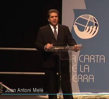 Joan Antoni Melé… abanderado de la banca sostenible