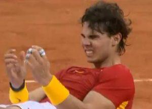 Rafa Nadal se hace con la victoria ganando la quinta Copa Davis para España en 2011