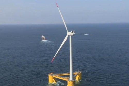 La primera plataforma de turbinas eólicas flotantes del mundo