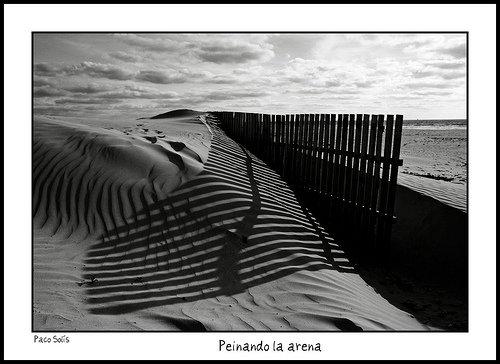 Dunas de Playa de Cortadura por Sidi Guariach en Flickr
