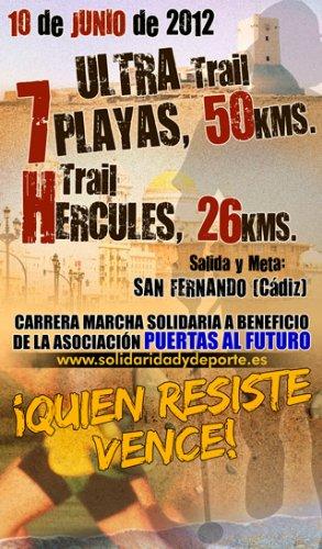 I Ultra Trail Solidaria 7 Playas y Trail Solidaria Hércules en Cádiz