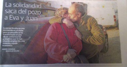 Un aliento de esperanza para el matrimonio que vivía en un coche en la Zubia