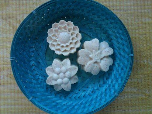Ejemplos de jabones naturales hechos por Naturalia Vida Sana