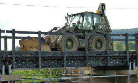 Construyen un puente con plástico reciclado en Escocia