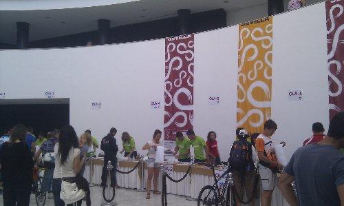 Triatlon Sevilla 2012 - Entrega de Dorsales