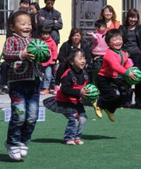 PLAN mejora la educación preescolar de la China Rural
