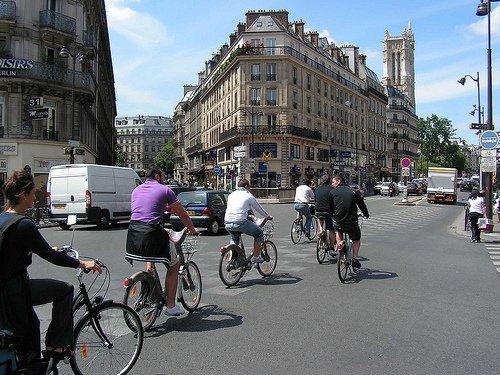 De París a Londres… ¡en bici!