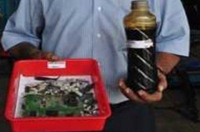 Un invento Indio transforma la basura en petróleo