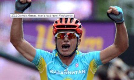 El ciclista Vinokourov subastará la bici con la que ganó el oro para un orfanato