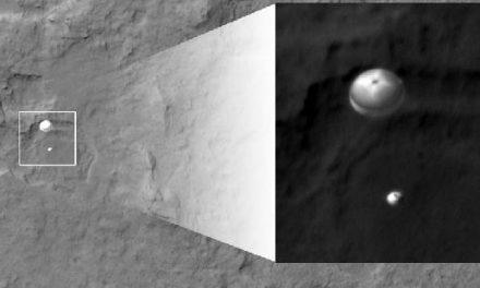 El aterrizaje del Curiosity en Marte