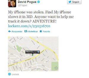 Un periodista neoyorquino encuentra su iPhone gracias a sus seguidores de Twitter