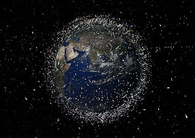 La ESA construirá un radar que detectará la basura espacial