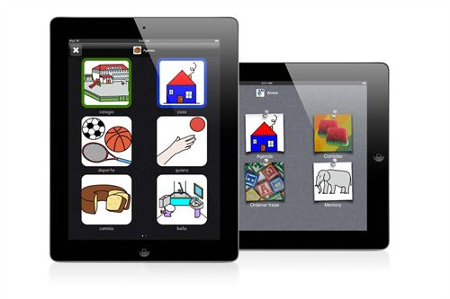 Aplicación para niños autistas y con síndrome de Down