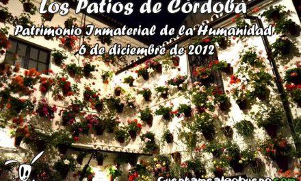 Los Patios de Córdoba Patrimonio Inmaterial de la Humanidad