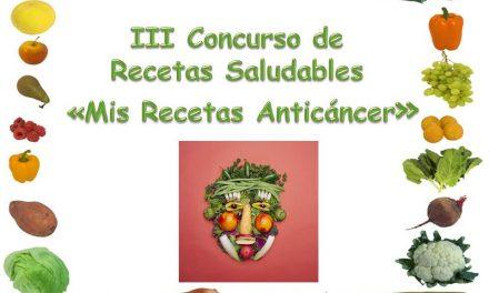 III Concurso de Recetas de Cocina Saludables